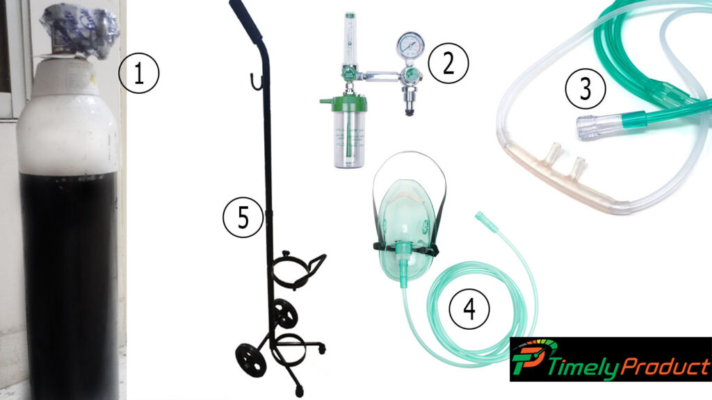 Oxygen Cylinder Full Packages