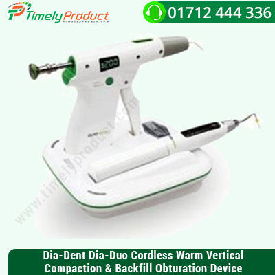 Dia-Dent-Dia-Duo-Cordless-Warm-Vertical-Compaction-&-Backfill-Obturation-Device