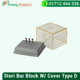 Steri Bur Block W/ Cover Type D