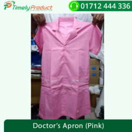 Doctor's Apron (Pink)-1
