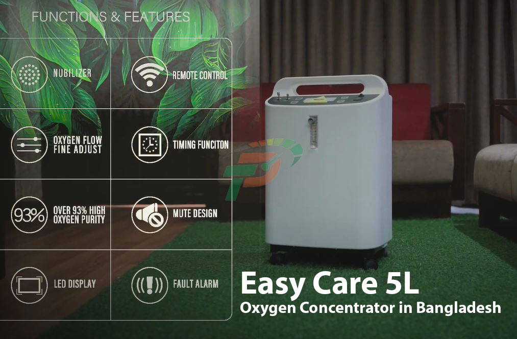 Easy Care 5L Oxygen Concentrator in Bangladesh