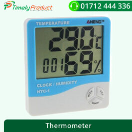 HTC-1 Digital Thermometer Hygrometer Weather – White and Blue-1