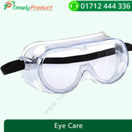 Medical Protective Safety Goggles with Clear Glass Wide-Vision and Chemical Splash Eye Protection-1